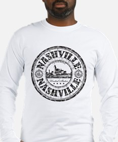 Nashville Stamp Long Sleeve T-Shirt