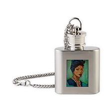 Voodoo Queen Flask Necklace