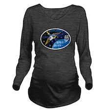 Expedition 39 Wakata Long Sleeve Maternity T-Shirt