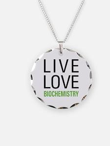 Live Love Biochemistry Necklace