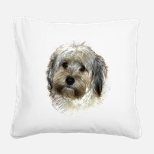 Morke Square Canvas Pillow