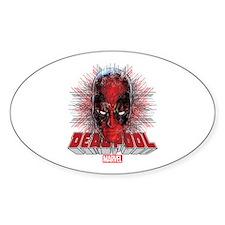 Deadpool Face 2 Decal