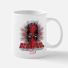 Deadpool Face 2 Mug