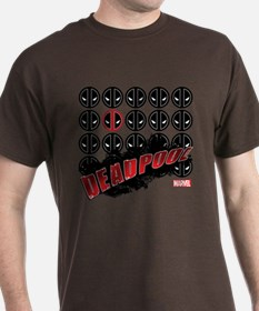 Deadpool Faces T-Shirt
