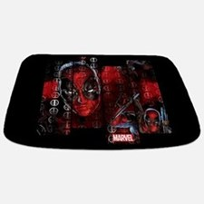 Deadpool Art Panel Bathmat