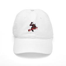 Deadpool Jumping Baseball Baseball Cap