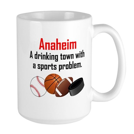 Anaheim A Drinking Town With A Sports Problem Mugs