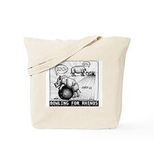 Bowling for Rhinos 2013 Tote Bag