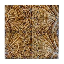 Fan Vaulted Ceiling Tile Coaster