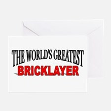 """The World's Greatest Bricklayer"" Greeting Cards ("