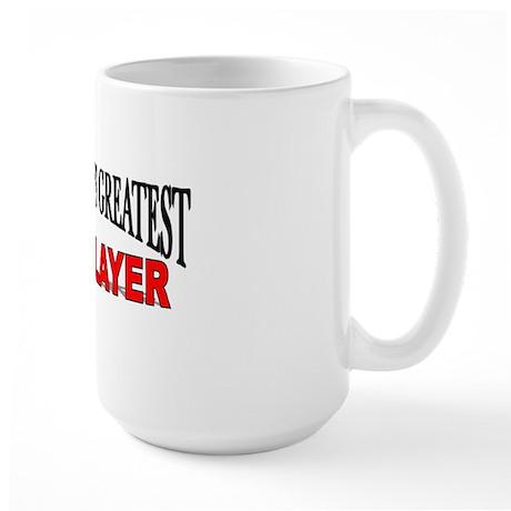 """The World's Greatest Bricklayer"" Large Mug"