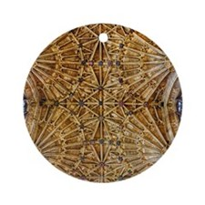 Fan Vaulted Ceiling Ornament (Round)