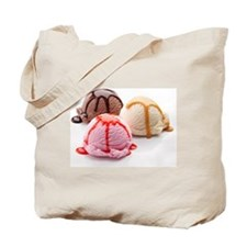 3 Scoops Tote Bag