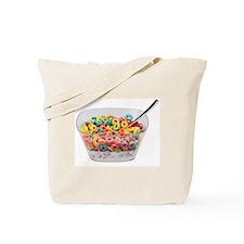 Rainbow Fruit Rings Tote Bag