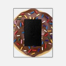 Chocolate Donut and Rainbow Sprinkle Picture Frame