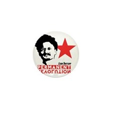 Trotsky Mini Button