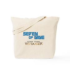 Seven of Nine Star Trek Tote Bag