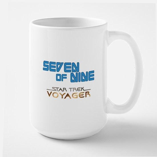 Seven of Nine Star Trek Mugs