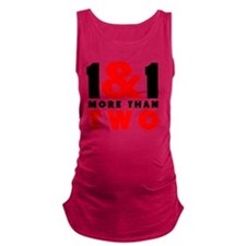1&1 More Than Two Maternity Tank Top