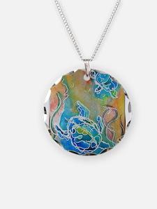 Sea Turtles, wildlife art Necklace