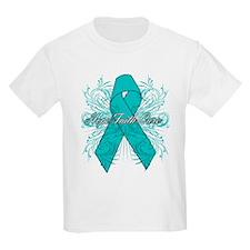 PCOS Hope Faith Cure T-Shirt