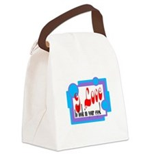 To Look In Your Eyes/ Canvas Lunch Bag