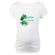 Palm Trees Circles Spring Break CANCUN Shirt
