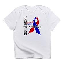 Pulmonary Fibrosis Awareness 1 Infant T-Shirt