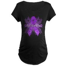 Crohns Disease Hope Maternity T-Shirt