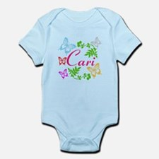 Personalize Name Dancing Butterflies Body Suit