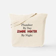 Plumber/Zombie Hunter Tote Bag