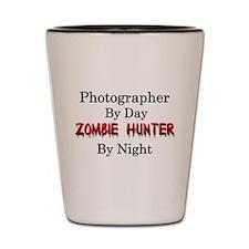 Photographer/Zombie Hunter Shot Glass
