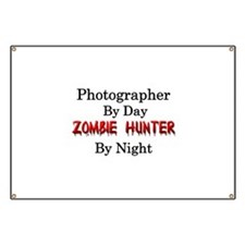 Photographer/Zombie Hunter Banner