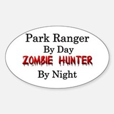 Park Ranger/Zombie Hunter Decal
