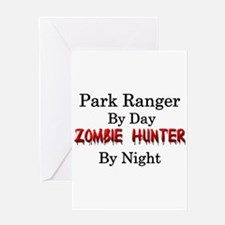 Park Ranger/Zombie Hunter Greeting Card