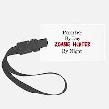 Painter/Zombie Hunter Luggage Tag