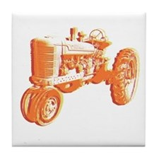 Serigraph Tractor Hot Tile Coaster