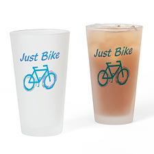 Just Bike Drinking Glass