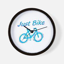 Just Bike Wall Clock