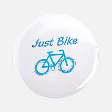 """Just Bike 3.5"""" Button"""