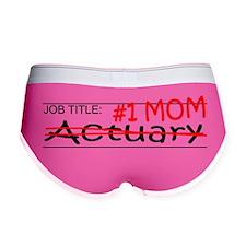Job Mom Actuary Women's Boy Brief