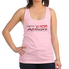 Job Mom Actuary Racerback Tank Top