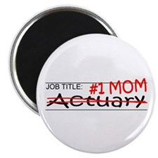 """Job Mom Actuary 2.25"""" Magnet (100 pack)"""