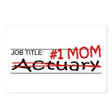 Job Mom Actuary Postcards (Package of 8)