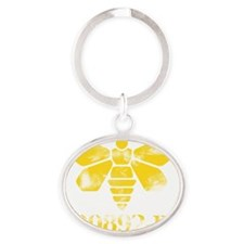 Methylamine Oval Keychain