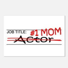Job Mom Actor Postcards (Package of 8)