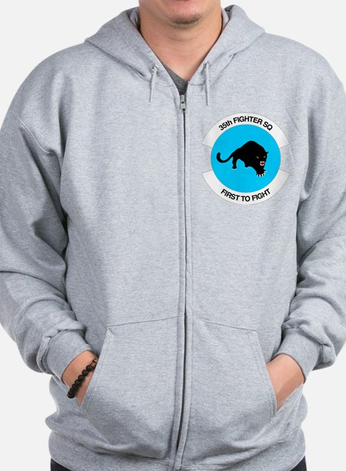 35th Fighter Squadron Zip Hoodie