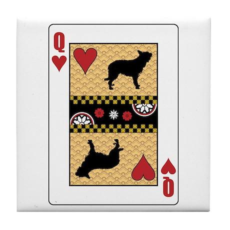 Queen Berger Tile Coaster