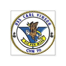 USS Carl Vinson CVN 70 US Navy Ship Sticker