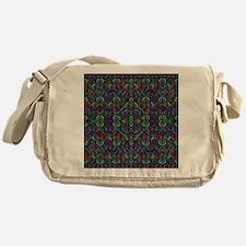 Sweet psychedelic hearts Messenger Bag